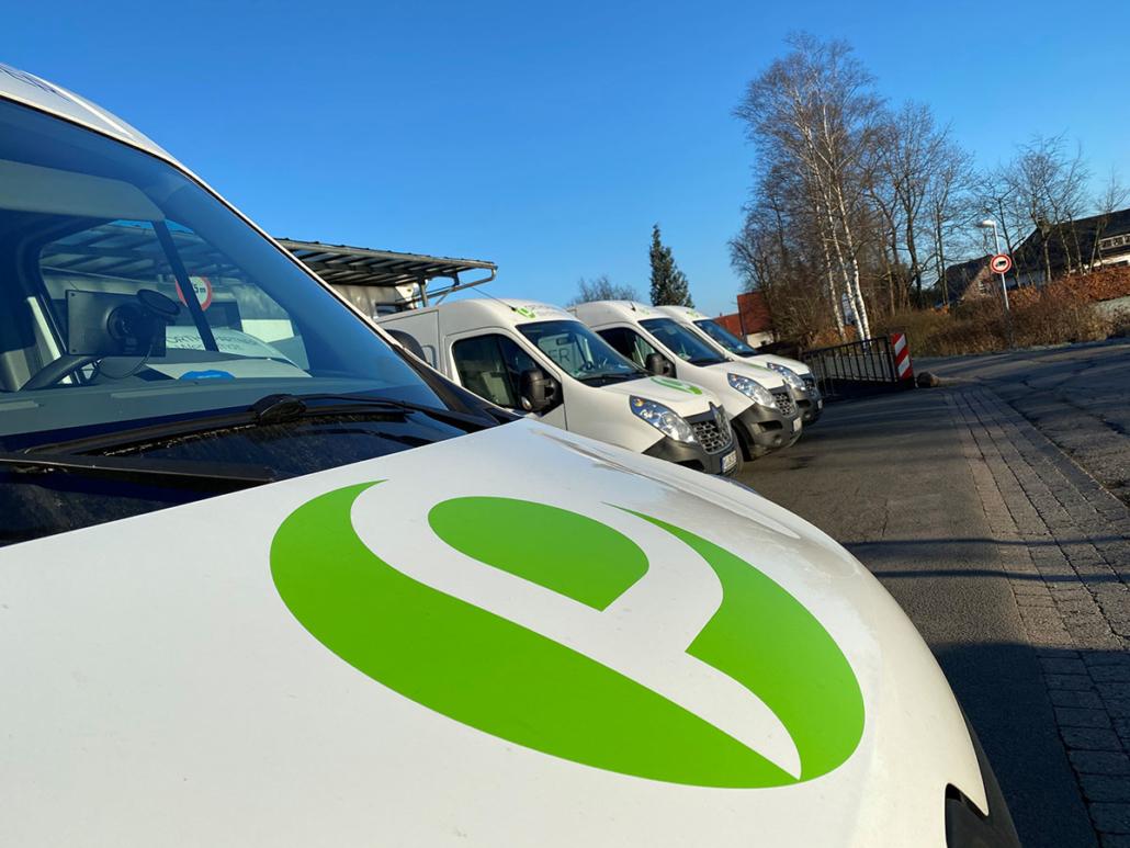 Orthopartner Westerholt Fuhrpark Mobile Versorgung